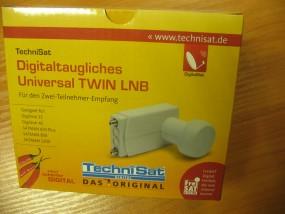 KONWERTER  LNB TWIN TechniSat Universal Twin V/H LNB
