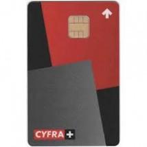 Karta kodowa NC+ CYFRA+