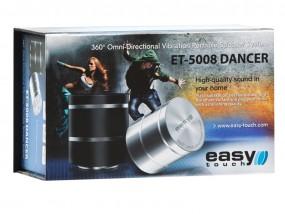 Głośnik wibracyjny EASY TOUCH DANCER ET-5008 SILVER