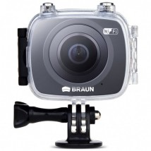 Kamera sportowa Braun Champion 360 z obudową wodoszczelną
