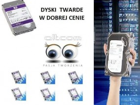 Dyski WD & SEGATE do pracy w trybie 7/24 CCTV